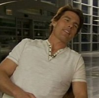 Tom Cruise squirms