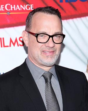 Tom Hanks hangs with fans