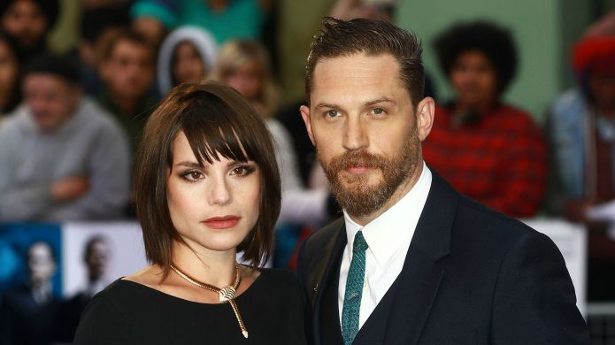 Tom Hardy and Charlotte Riley's red
