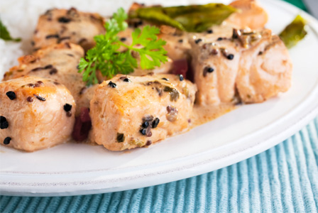 Tandori salmon