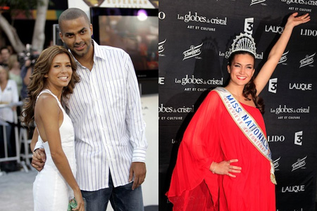 Tony Parker and French beauty queen