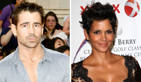 Halle Berry and Colin Farrell