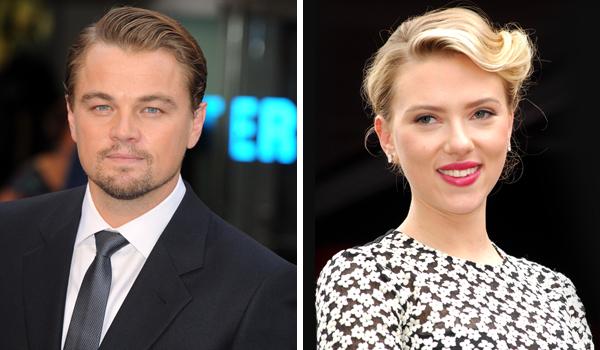 Leonardo DiCaprio and Scarlett Johansson
