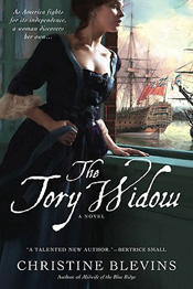 The Tory Widow by Christine Blevins book cover
