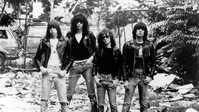 The Ramones Shown: Johnny Ramone, Joey