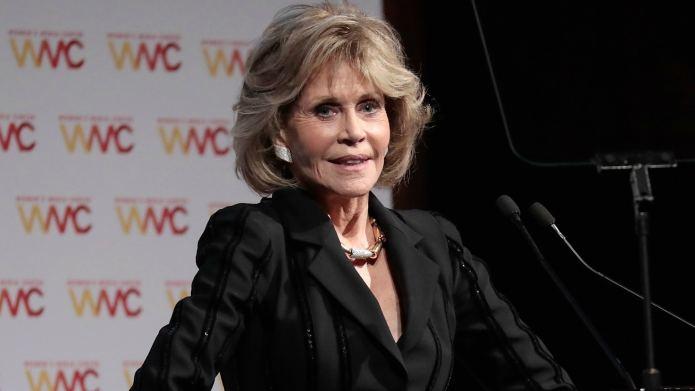 Jane Fonda Says Harvey Weinstein's Victims