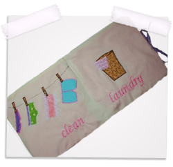 Delicates laundry travel bag