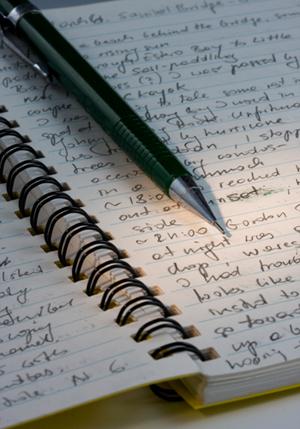 travel notebook journal