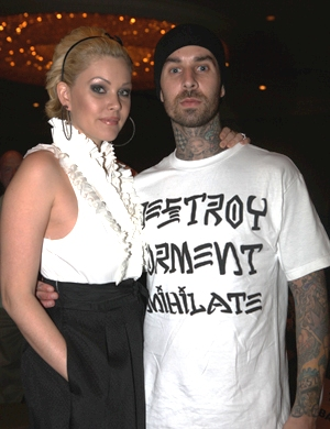 Travis and Shannon on a recent night out