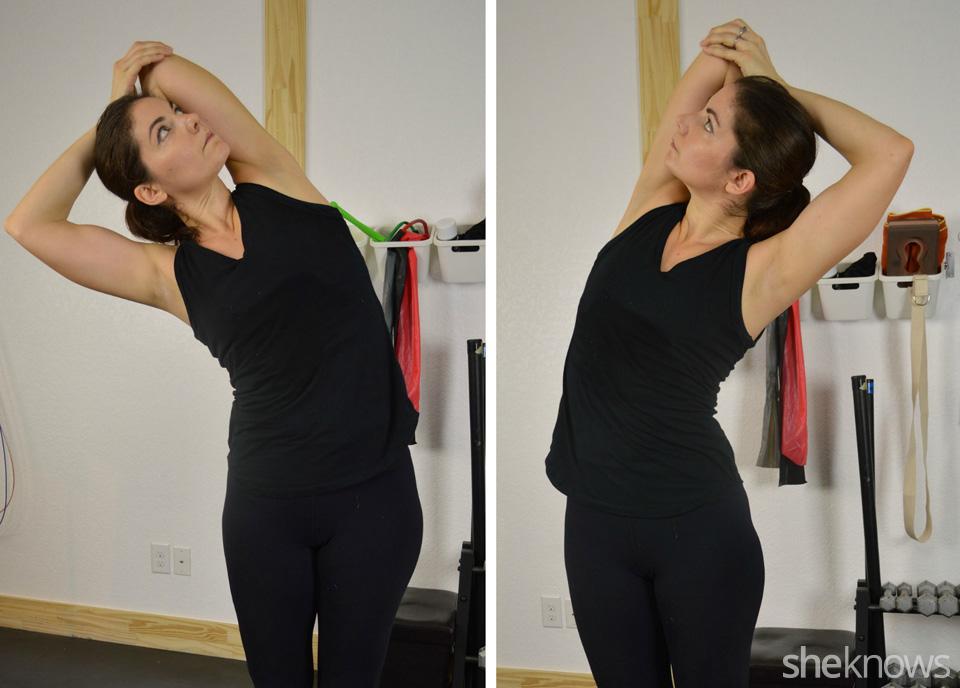 Triceps side bends