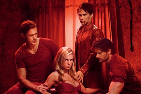Sookie's men on True Blood, Eric, Bill and Alcide