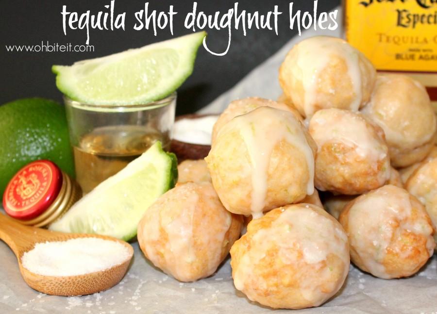 tequila shot doughnut holes