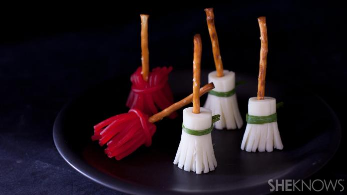 Sweet and savory witches' brooms are