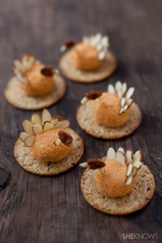 Mini turkey cheese balls
