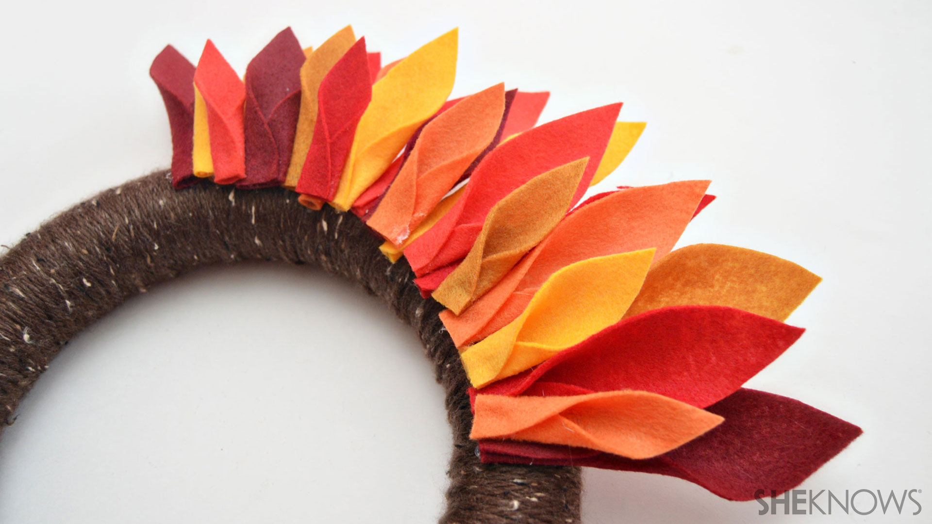 Turkey wreath | Sheknows.com - step 5