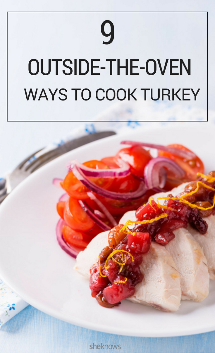 cook turkey without an oven