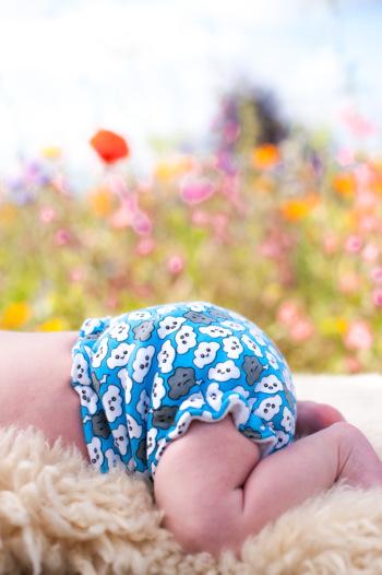 Turtle Love cloth diaper