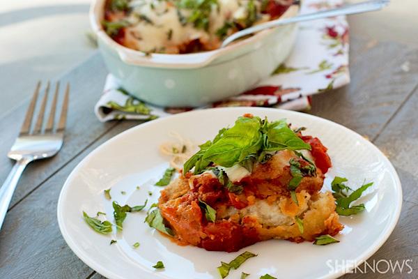 tuscan eggplant casserole
