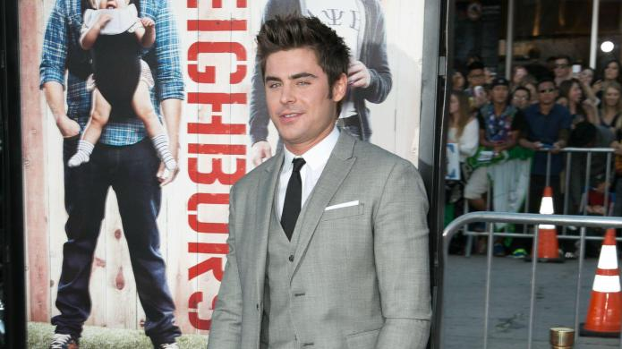 Zac Efron is over Michelle Rodriguez:
