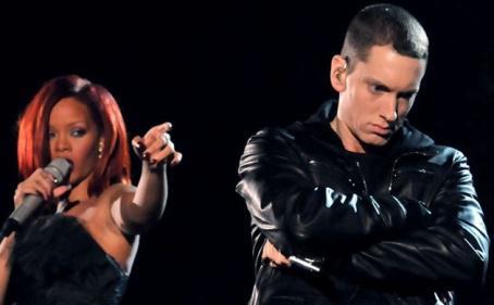 Eminem, Dr. Dre and Rihanna's Grammys