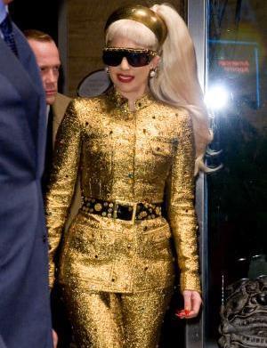 Lady Gaga stopped puking to save