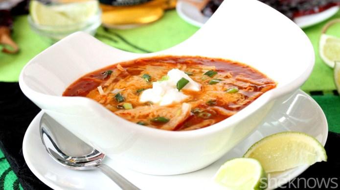 Slow Cooker Sunday: Enchilada soup that