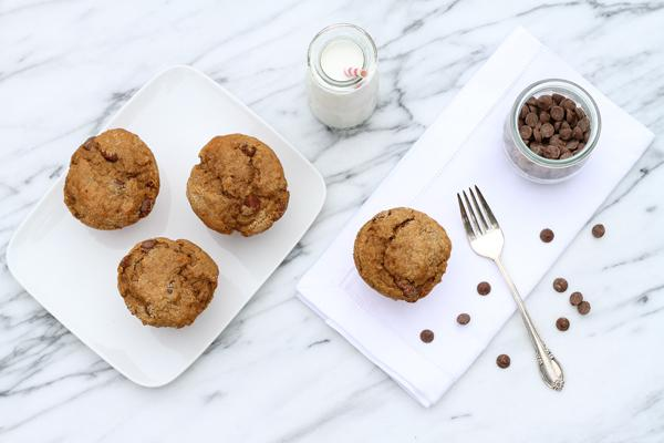 Cappuccino muffins with chocolate chunks