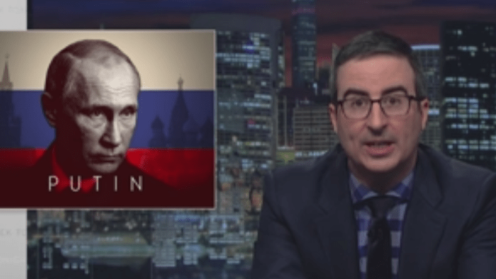 John Oliver's Techno Number Is Exactly