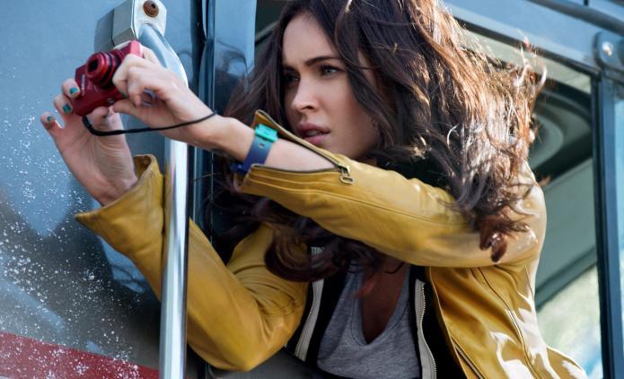 Megan Fox is April O'Neil in