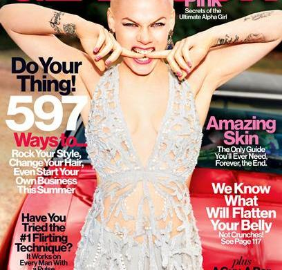 Pink tells Glamour: My daughter Willow