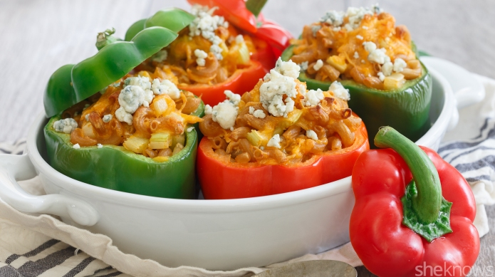 30-Minute meal: Buffalo chicken mac and