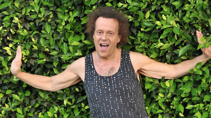 Richard Simmons Is Busy Bedazzling and