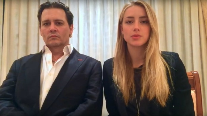 Johnny Depp and Amber Heard are