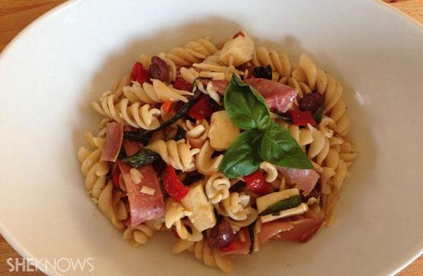 Recipe revamp: Pasta salad