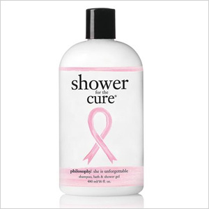 Philosophy Shower for the Cure