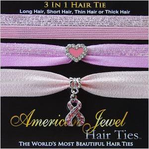 American Jewel Hair Ties
