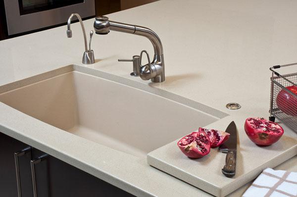 Install an undermount sink