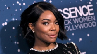 Gabrielle Union Kisses Her Baby on