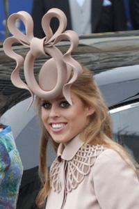 Princess Beatrice's wacky royal wedding hat