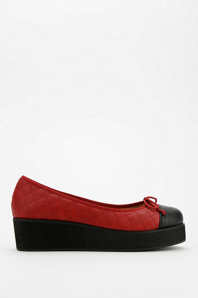 urban outfitters cooperative quilted flatform