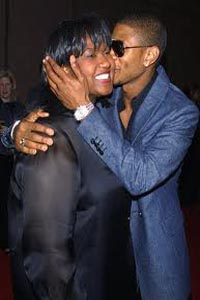 Usher fired and rehired his mom as manager