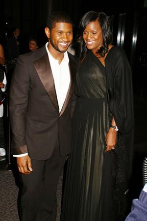 Usher stepson Kile Glover brain dead