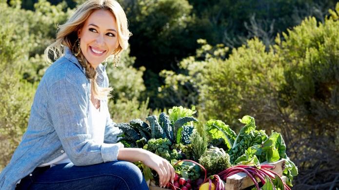 Haylie Duff uses love of food