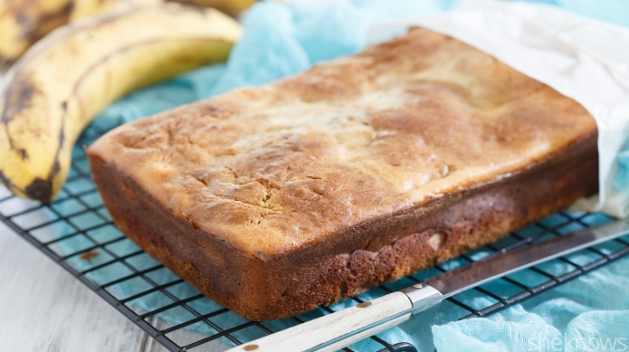 Banana bread with the best surprise