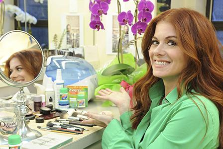 Debra Messing on beauty, work and