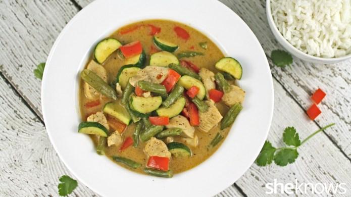 One-Pot Wonder: Thai chicken curry in