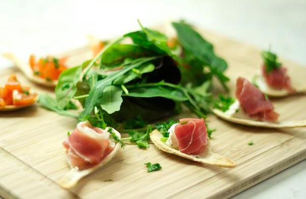 Creative hors d'oeuvres