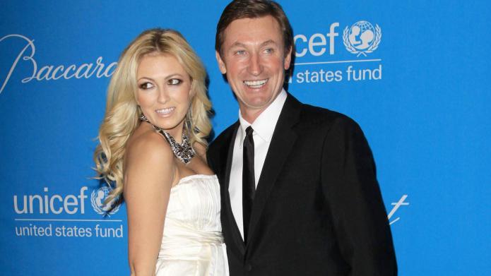 Grandpa Wayne Gretzky Approves Paulina Gretzky Picks A T Baby