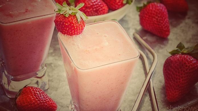 Boozy 'Strawberry Julius' is a million