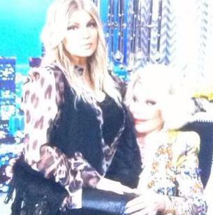 "Mommy tweets: Fergie ""breastfeeds"" Joan Rivers,"